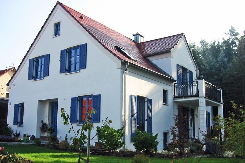 einfamilienhaus im oberpf lzer baustil im landkreis regensburg 0114 merkl architektur. Black Bedroom Furniture Sets. Home Design Ideas