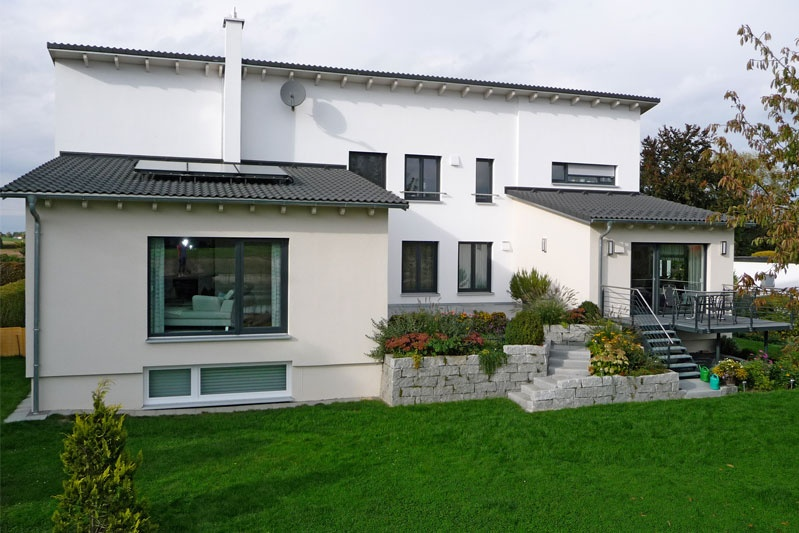 erweiterung umbau und sanierung eines 50 er jahre bungalows im landkreis regensburg 0132. Black Bedroom Furniture Sets. Home Design Ideas