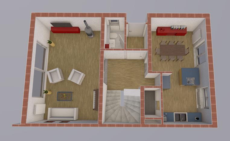 neugestaltung einer dhh in zeitlarn landkreis regensburg 0171 merkl architektur. Black Bedroom Furniture Sets. Home Design Ideas