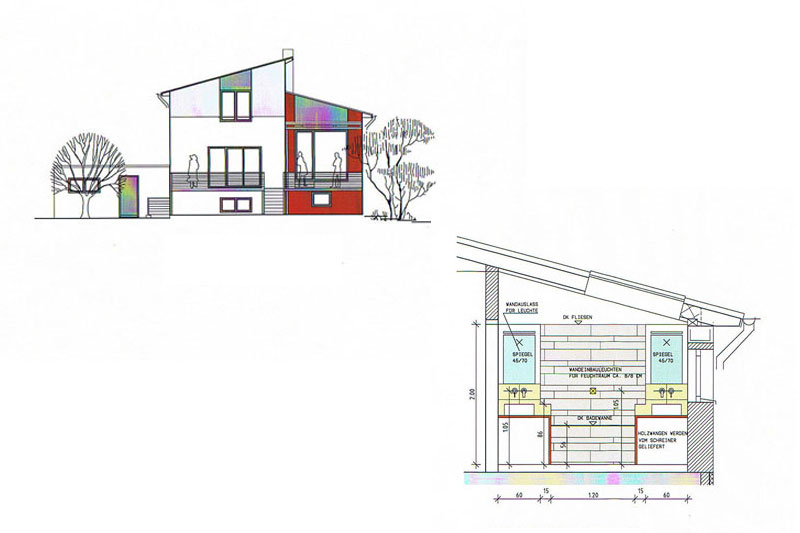 feng shui einfamilienhaus in schwandorf 0101 merkl architektur. Black Bedroom Furniture Sets. Home Design Ideas