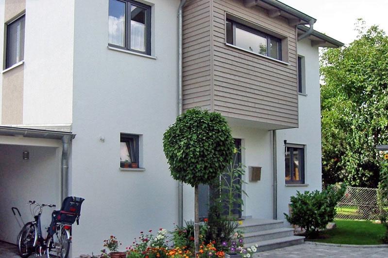 Kettenhaus Perspektive Südostansicht Haus 2