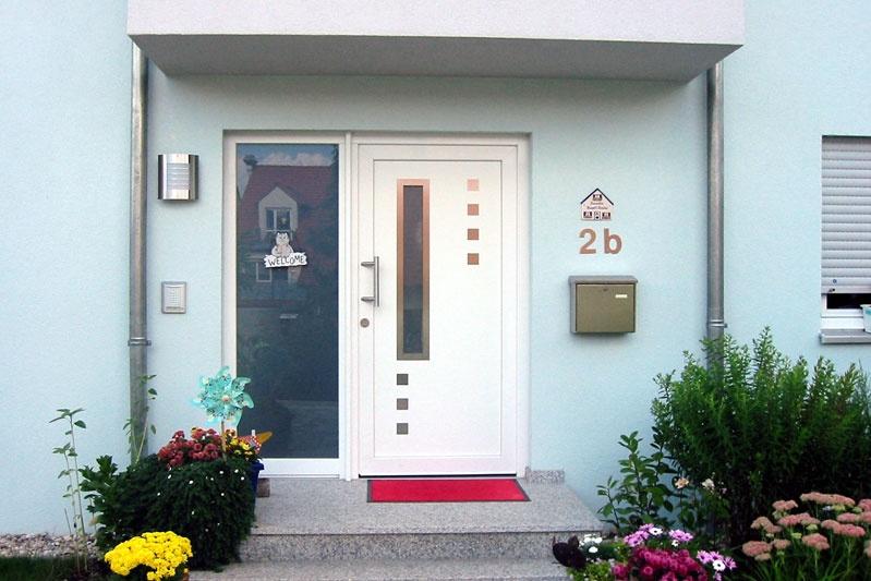 Kettenhaus Eingangsbereich Osten Haus 1