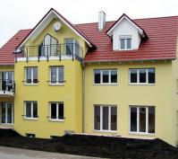 Niedrigenergie Mehrfamilienhaus Mintraching Südansicht Nach Fertigstellung