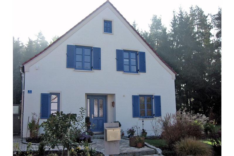 Oberpfälzer Haus Perspektive Westansicht