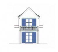 Oberpfälzer Haus Detailplanung Balkongeländer