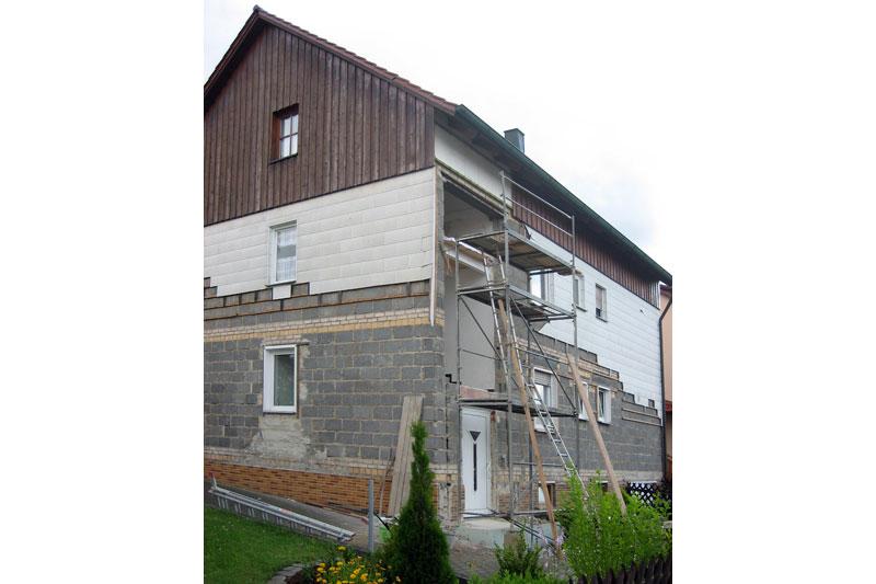 umbau und neugestaltung eines 3 familienwohnhauses in schwandorf 0115 merkl architektur. Black Bedroom Furniture Sets. Home Design Ideas