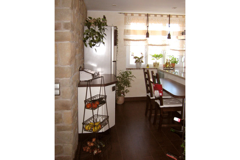 Sanierung Schwandorf Innenansicht Küche