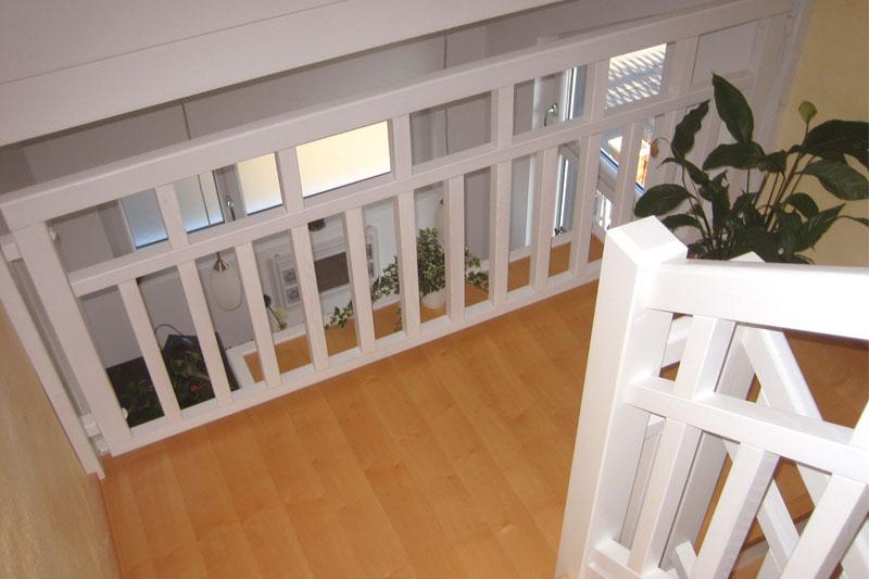 Sanierung Schwandorf Innenansicht Treppe