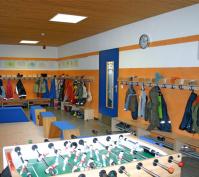 Innengestaltung Möblierung Kindergarten