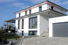 Toskana Haus Perspektive Südansicht