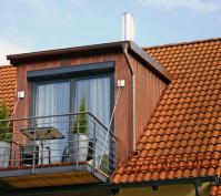 Dachgeschossausbau Dachgaube Mit Balkon