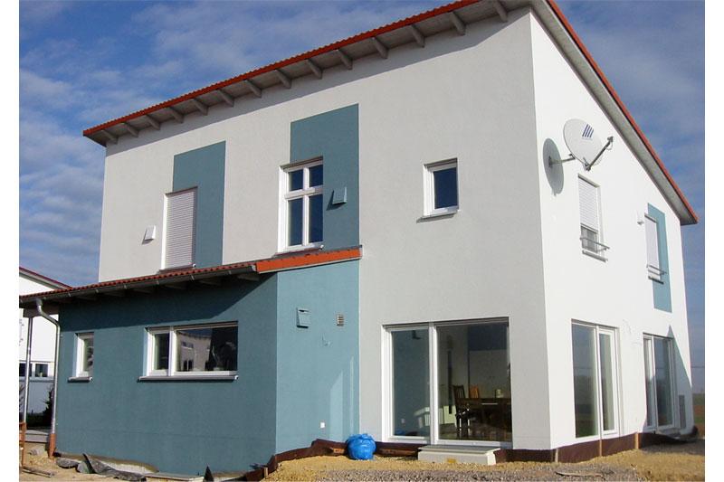 pultdachhaus in oberhinkofen 0135 merkl architektur. Black Bedroom Furniture Sets. Home Design Ideas