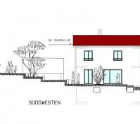 Kettenhaus Plan Südwesten