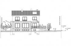KfW-100_Wohnhaus mit Einliegerwohnung Westansicht