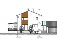 Kfw-100_Wohnhaus Mit Einliegerwohnung Südansicht