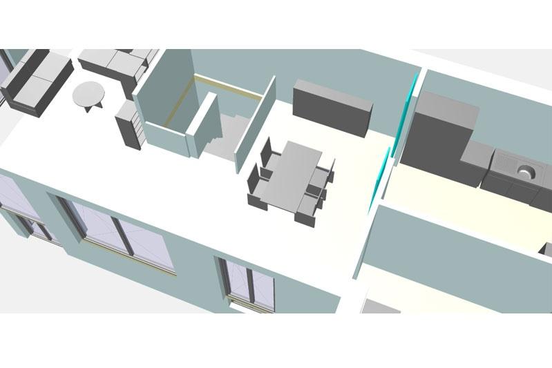 Sanierung Ganghofersiedlung Regensburg Planung Innen