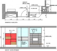 Efh Mit Büro Plan Kachelofenwand