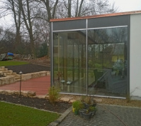 Anbau Wintergarten Pfakofen Perspektive Seitenansicht Nach Fertigstellung