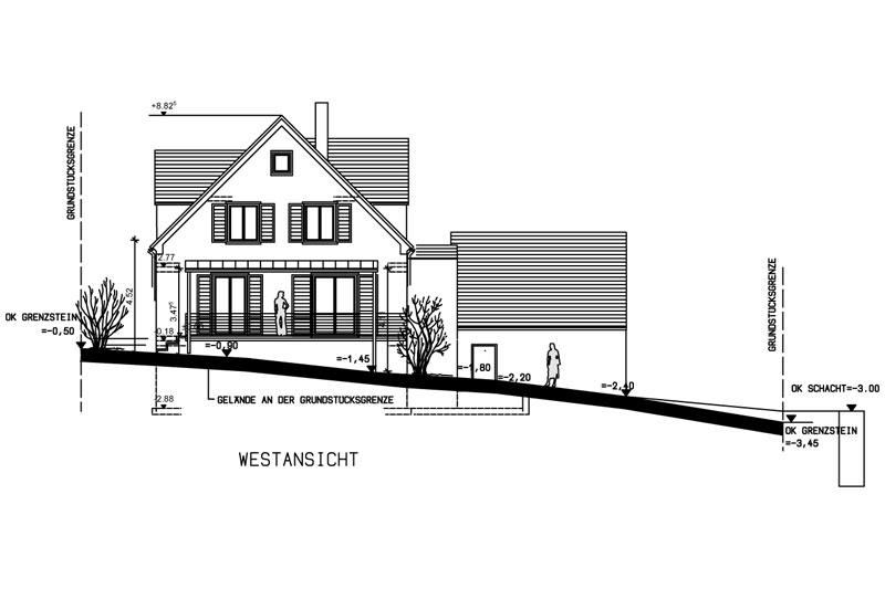 Oberpfälzer Haus Westansicht
