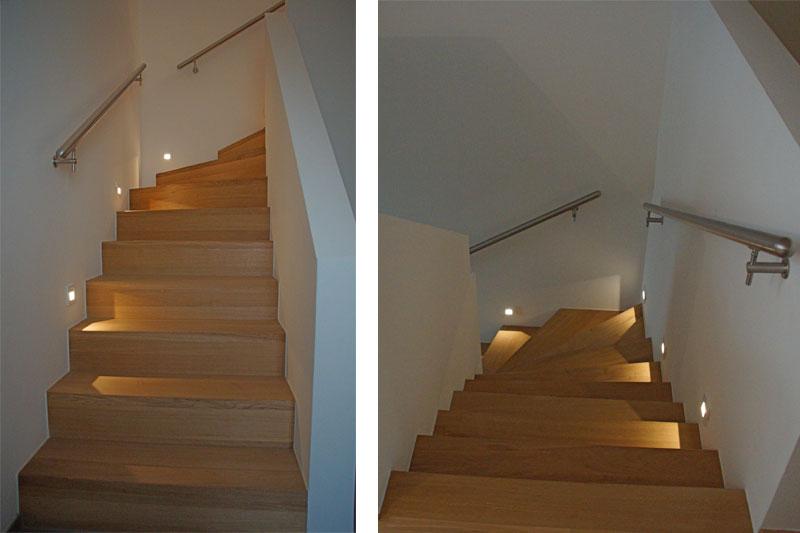 Sanierung 70-er Jahre EFH, neuer Treppenaufgang (Whg. 1)