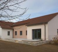 Sanierung 70-Er Jahre Efh, Ansicht Süd-Ost Mit Neuer Terrasse (Whg. 2)
