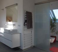 Umbau Pettendorf Elternbad Waschtischanlage