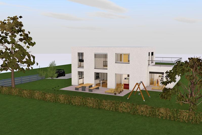 einfamilienhaus mit einliegerwohnung in s nching. Black Bedroom Furniture Sets. Home Design Ideas