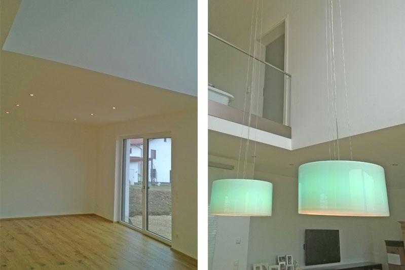 Einfamilienhaus mit Flachdach und Einliegerwohnung Sünching Innenräume