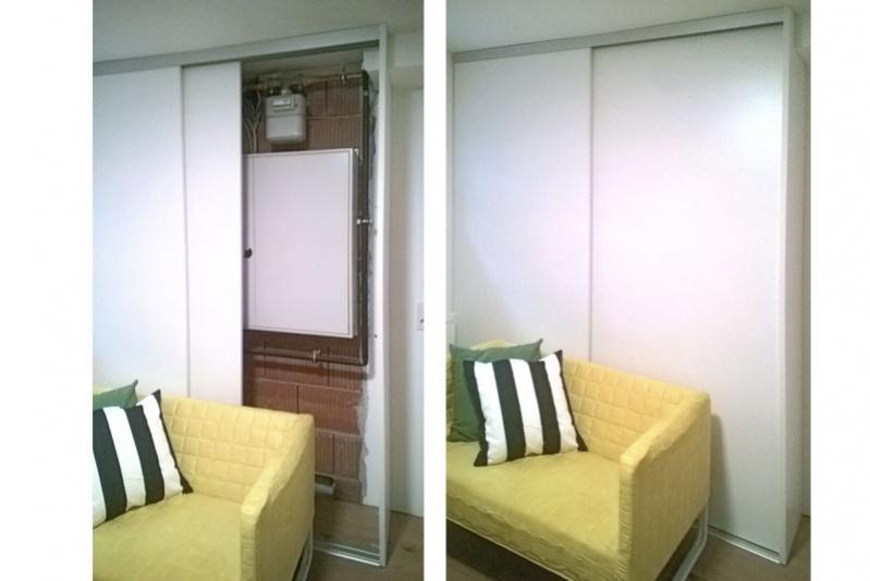 Wohnhauserweiterung durch Kellerausbau Obertraubling, Einbauschrank