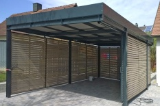 Moderner Stahl-/Holzcarport, auf individuelle Nutzung abgestimmt, Obertraubling, Landkreis Regensburg