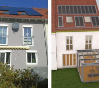 Anbau Wintergarten An Reihenmittelhaus Oberhinkofen, Ist-Situation Und Entwurfsplanung