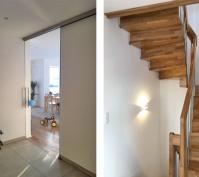 Doppelhaushälfte In Schwabelweis, Stadt Regensburg, Ansicht Diele Und Treppenhaus