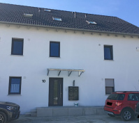 Neubau Mfh In Barbing, Lkr. Regensburg, Eingangsbereich Nach Fertigstellung
