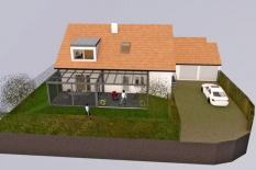 Sanierung Einfamilienhaus in Alteglofsheim, Landkreis Regensburg, Planung