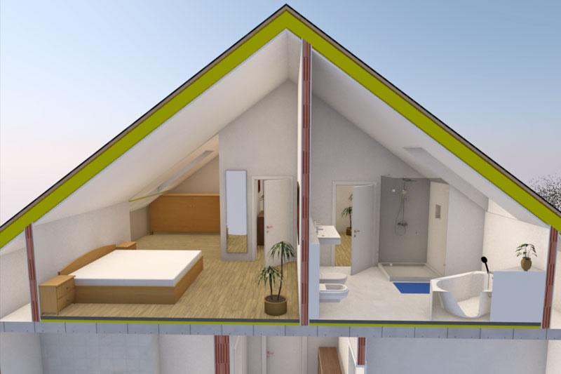 Sanierung Einfamilienhaus in Alteglofsheim, Landkreis Regensburg, Planung OG