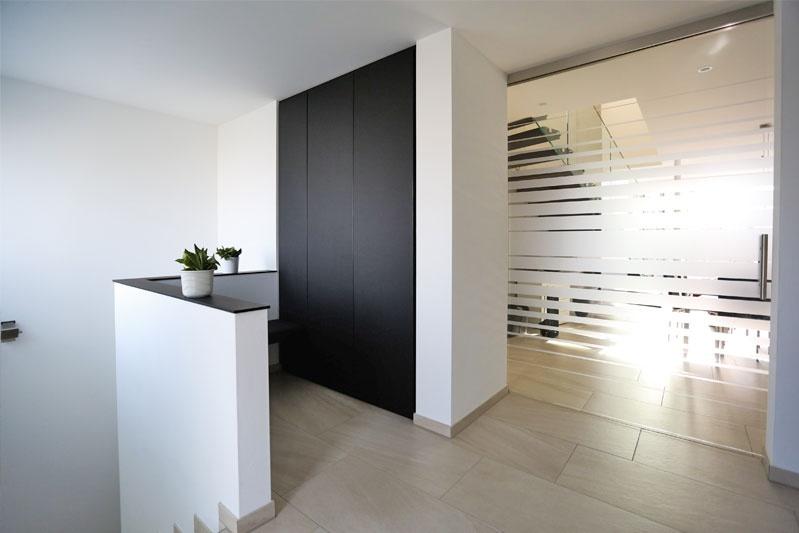 Neubau Einfamilienhaus in Thalmassing, Landkreis Regensburg, Innenansicht Eingangsbereich