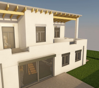 Neubau Einfamilienhaus In Thalmassing, Landkreis Regensburg, Planung Dachterrasse