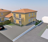 Neubau Efh Und Mfh In Obertraubling, Landkreis Regensburg, Planungsansicht Efh 2