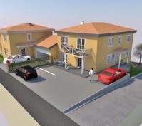Neubau Efh Und Mfh In Obertraubling, Landkreis Regensburg, Planungsansicht