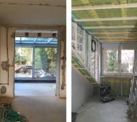 Sanierung Reihenmittelhaus Regensburg Sanierungsphase