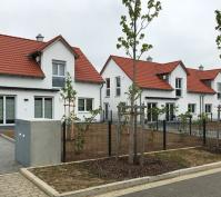 Neubau Zwei Doppelhaushälften Und Ein Kettenhaus In Oberisling, Stadt Regensburg, Aussenansicht Nachher