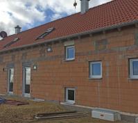 Neubau Zwei Doppelhaushälften Und Ein Kettenhaus In Oberisling, Stadt Regensburg, Bauphase