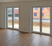 Neubau Zwei Doppelhaushälften Und Ein Kettenhaus In Oberisling, Stadt Regensburg, Ansicht Wohnraum