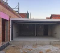 Neubau Einfamilienhaus In Oberisling, Stadt Regensburg, Bauphase