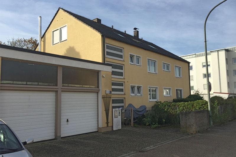 Sanierung 60-er Jahre Wohnhaus, Obertraubling, Lkr. Regensburg, Aussenansicht vorher