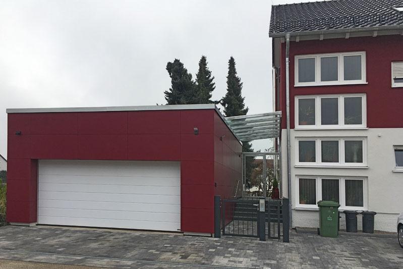 Sanierung 60-er Jahre Wohnhaus, Obertraubling, Lkr. Regensburg, Aussenansicht nachher