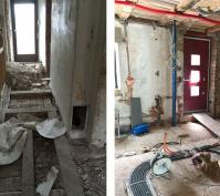 Altbausanierungen In Regensburg, Ansichten Bauphase