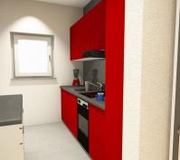 Appartement In Obertraubling, Landkreis Regensburg, Planungsansicht Küche