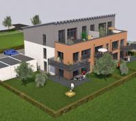 Mehrfamilienhaus In Barbing, Lkr. Regensburg, Ansicht Südosten