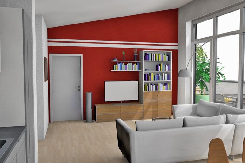 Mehrfamilienhaus in Barbing, Lkr. Regensburg, Wohneinheit 7, 2. OG